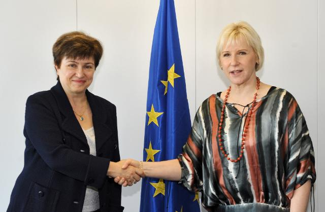 Visit of Margot Wallström, former Member of the EC and UN Special Representative of the Secretary-General on Sexual Violence in Conflict, to the EC