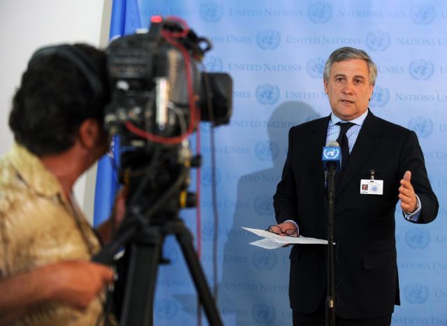 Participation d'Antonio Tajani, vice-président de la CE, au Sommet des dirigeants sur le Pacte mondial des Nations unies 2010