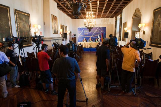 Pilgrimage of Antonio Tajani, Vice-President of the EC, to Santiago de Compostela, in Spain