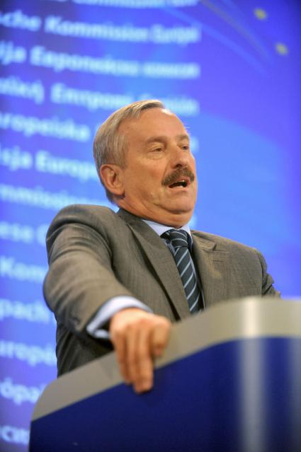 Press conference by Siim Kallas on the EC's measures to improve the functioning of the rail market