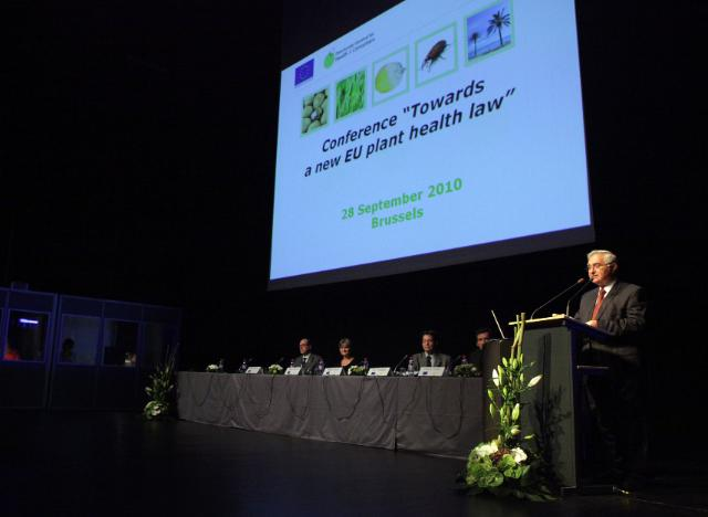 Conference on the review of the EU plant health regime Towards a new EU Plant Health Law