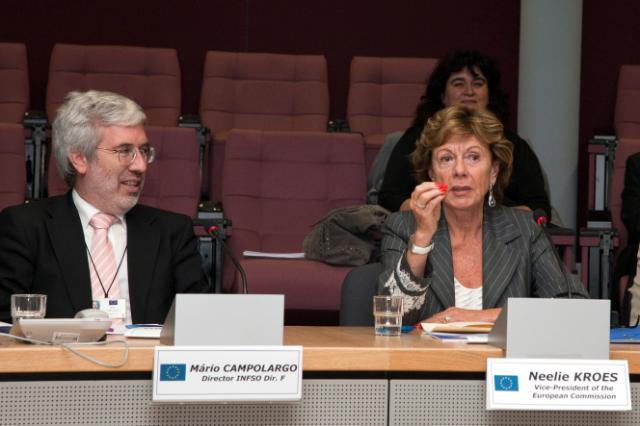 Presentation of the report of the High-Level Group on Scientific Data, with the participation of Neelie Kroes, Vice-President of the EC