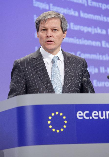 Participation d'Antonio Tajani, Michel Barnier, Dacian Cioloş et John Dalli, membres de la CE, à la première réunion du Forum à haut niveau sur l'amélioration du fonctionnement de la chaîne d'approvisionnement alimentaire