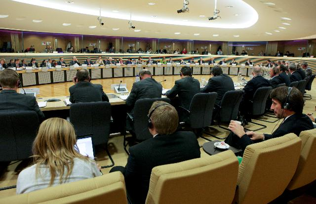 Participation of Antonio Tajani, Michel Barnier, Dacian Cioloş and John Dalli, Members of the EC, at the first meeting of the High Level Forum for a Better Functioning Food Supply Chain