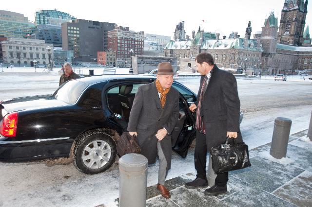 Visite de Karel De Gucht, membre de la CE, au Canada