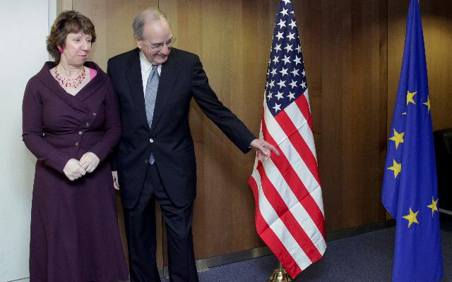 Visit of George Mitchell, US Special Envoy for Middle East Peace, to the EC
