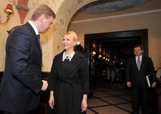 Visite de Štefan Füle, membre de la CE, en Ukraine
