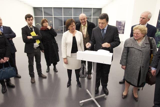 Inauguration of the Lorraine annex of the Centre Pompidou in Metz