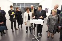 Inauguration de l'annexe lorraine du Centre Pompidou, à Metz