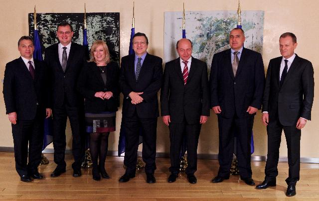 Participation of José Manuel Barroso, President of the EC, at the working dinner on the North-South Energy Corridor