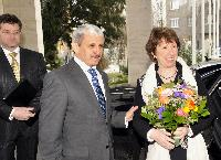 Visit of Catherine Ashton, Vice-President of the EC, to Bratislava