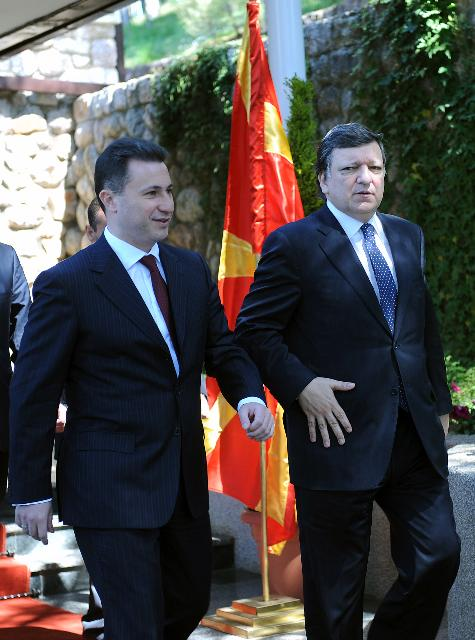 Visit of José Manuel Barroso, President of the EC, to the former Yugoslav Republic of Macedonia