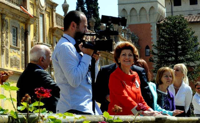 Participation of Androulla Vassiliou, Member of the EC, at the launch of the programme Youth on the Move, in Florence