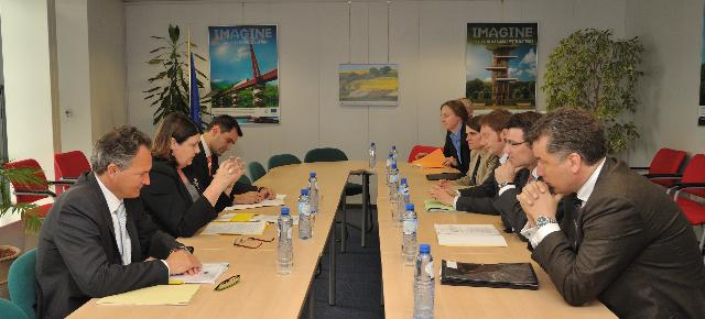 Visit of a delegation from the Committee on Committee on Education, Research and Technology Assessment of the German Bundestag to the EC