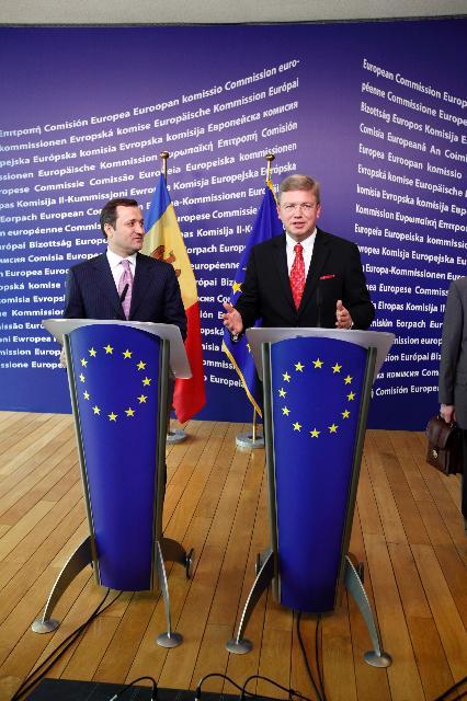 Visit of Vladimir Filat, Moldovan Prime Minister, to the EC