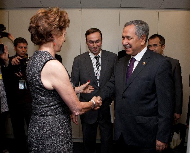 Visit of Bülent Arinç, Turkish Deputy Prime Minister, to the EC