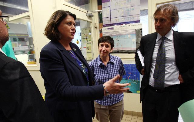 Visit of Máire Geoghegan-Quinn, Member of the EC, to France