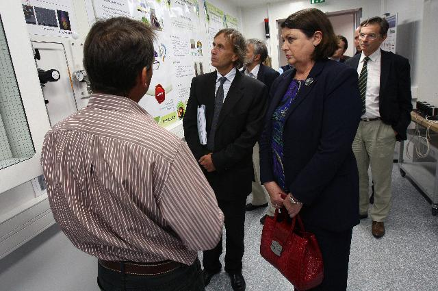 Visit of Máire Geoghegan-Quinn, Member of the EC, to France