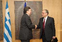 Visit of Lucas Papademos, Greek Prime Minister, to the EC