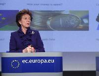 Conférence de presse de Neelie Kroes, vice-présidente de la CE, sur la stratégie européenne en matière d'ouverture des données