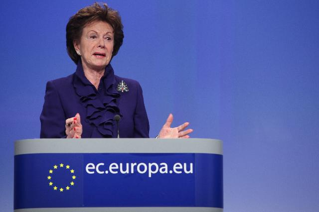 Press conference by Neelie Kroes, Vice-President of the EC, on the Open Data Strategy for Europe