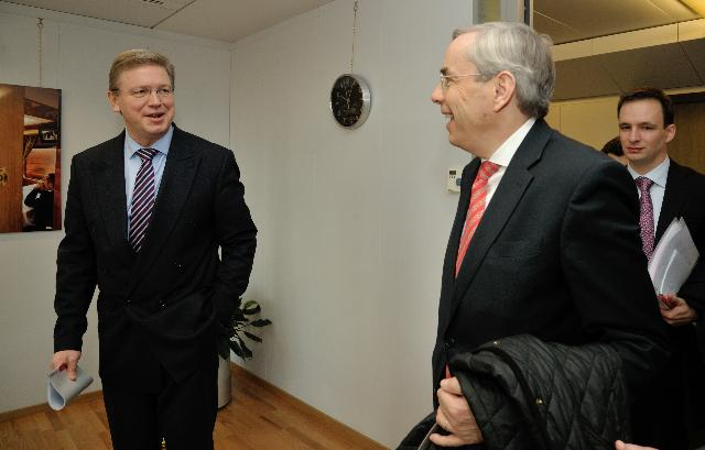 Visit of Thomas Mirow, President of the European Bank for Reconstruction and Development, to the EC