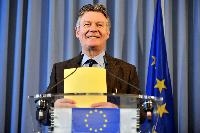 Press conference by Karel De Gucht, Member of the EC, on the Airbus-Boeing dispute