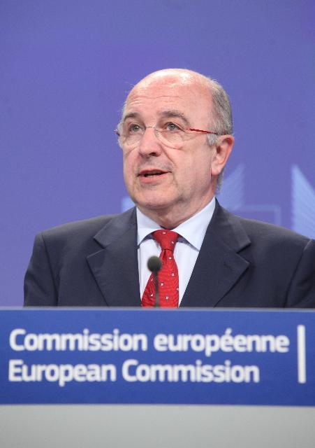 Press conference by Joaquín Almunia, Vice-President of the EC, on the three competition and state aid related cases