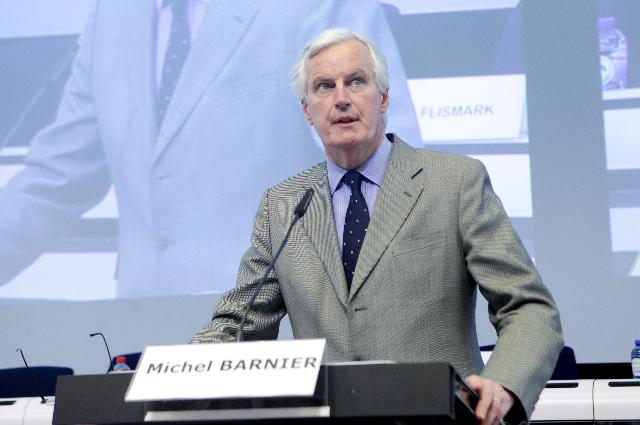 Michel Barnier - Credit © European Union, 2012