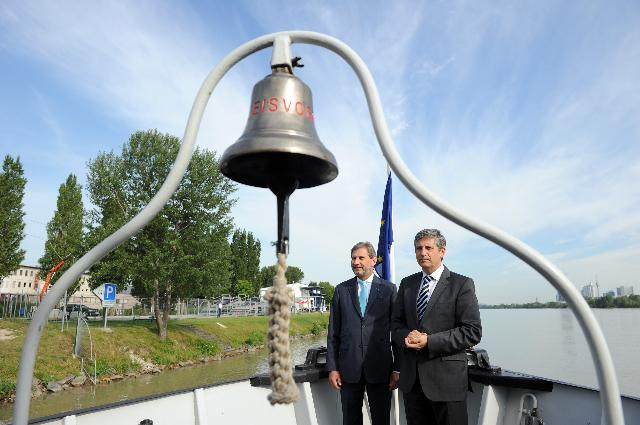 Visit of Johannes Hahn, Member of the EC, to the Danube region to take stock of progress achieved in the framework of the Danube Strategy