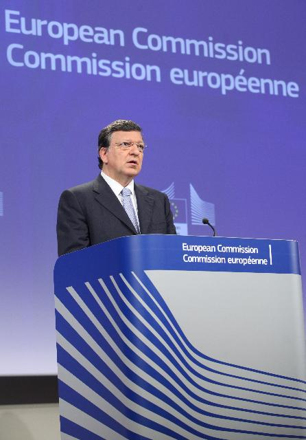 Press conference by José Manuel Barroso, President of the EC, on the reports on Romania and Bulgaria under the Cooperation and Verification Mechanism