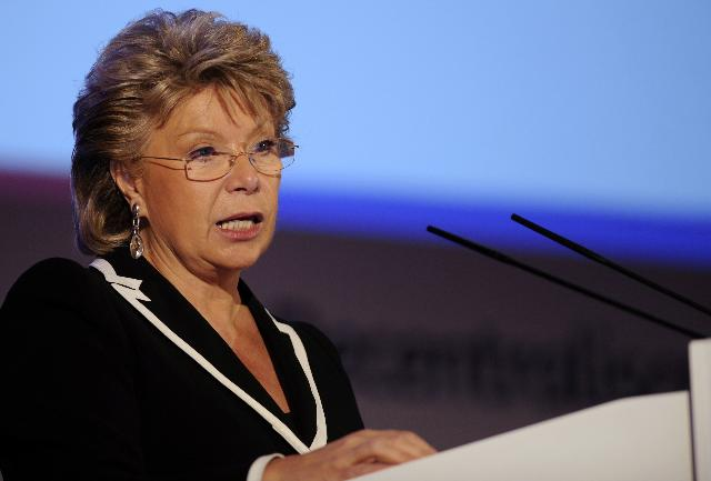 Citizens' Dialogue in Cadiz with Viviane Reding