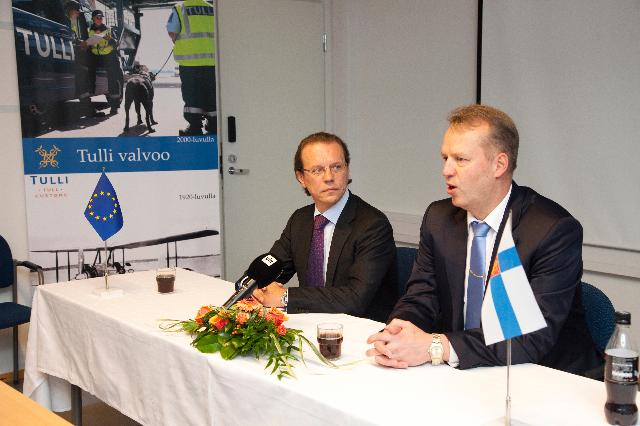 Visit of Algirdas Šemeta, Member of the EC, to Finland