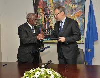 Signature d'un protocole d'accord entre l'UE et le FIDA renforçant leur coopération dans les domaines de l'agriculture