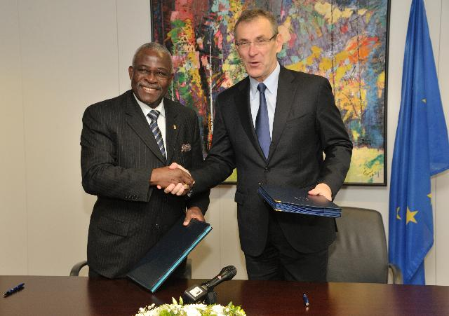Signature of the EU-International Fund for Agricultural Development (IFAD) memorandum of understanding