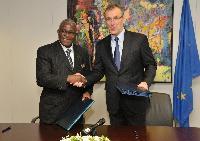 Signature of the EU-International Fund for Agricultural Development (IFAD) memorandum of understanding