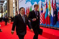Participation de José Manuel Barroso, président de la CE, au 9e sommet Asie/Europe