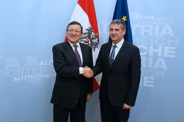 Participation of José Manuel Barroso, President of the EC, in the Vienna R20 conference