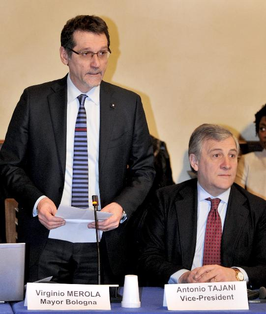 Participation of Antonio Tajani, Vice-President of the EC, at the Meeting of Network with SME Envoys, organised in Bologna