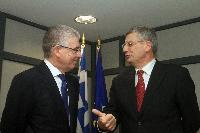 Visit of Tonio Borg, Member of the EC, to Greece