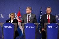 EC/Croatia/Bosnia and Herzegovina trilateral meeting chaired by Štefan Füle, Member of the EC