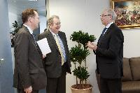Visit of Sir Graham Watson, Member of the EP, to the EC