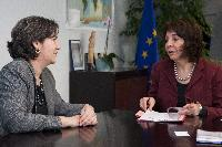 Visit of Mirtha María Hormilla Castro, Head of the Mission of  Cuba to the EU, to the EC