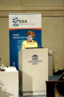 Participation of Androulla Vassiliou, Member of the EC, at the 2013 EUA annual conference, organised at the University of Ghent