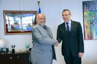 Visit of Mohamed Bahaa El-Din, Egyptian Minister for Water Resources and Irrigation and President of Amcow, to the EC