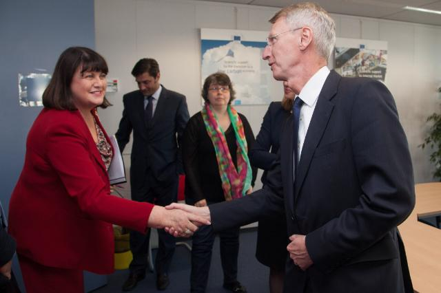 Visit of John Rishton, CEO of Rolls-Royce, to the EC
