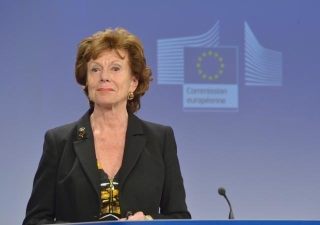 Press conference by Neelie Kroes, Vice-President of the EC, on the Green Paper 'Preparing for a Fully Converged Audiovisual World: Growth, Creation and Values'