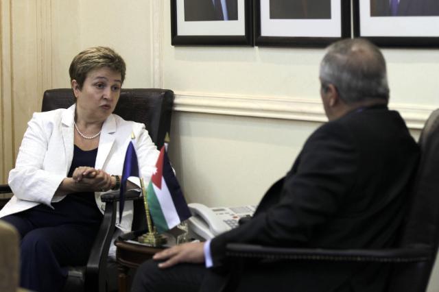 Visit of Kristalina Georgieva, Member of the EC, to Jordan