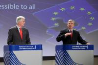 Joint press conference by Michel Barnier and Tonio Borg, Members of the EC, on the proposal for a Directive on bank accounts