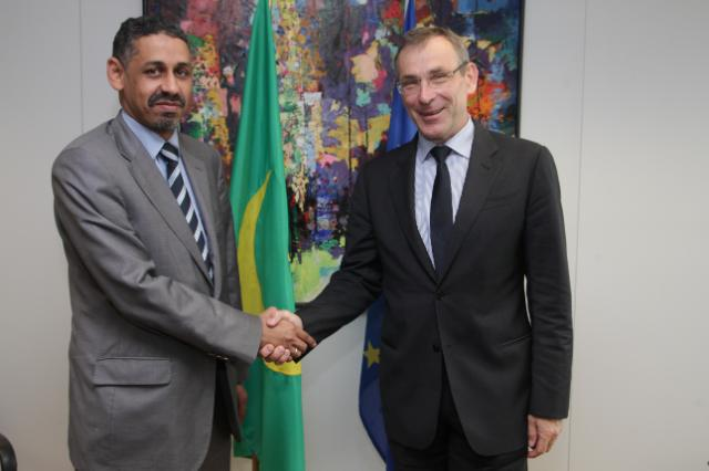 Visit of Sidi Ould Tah, Mauritanian Minister for Economic Affairs and Development, to the EC